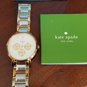 Kate Spade tricolor watch